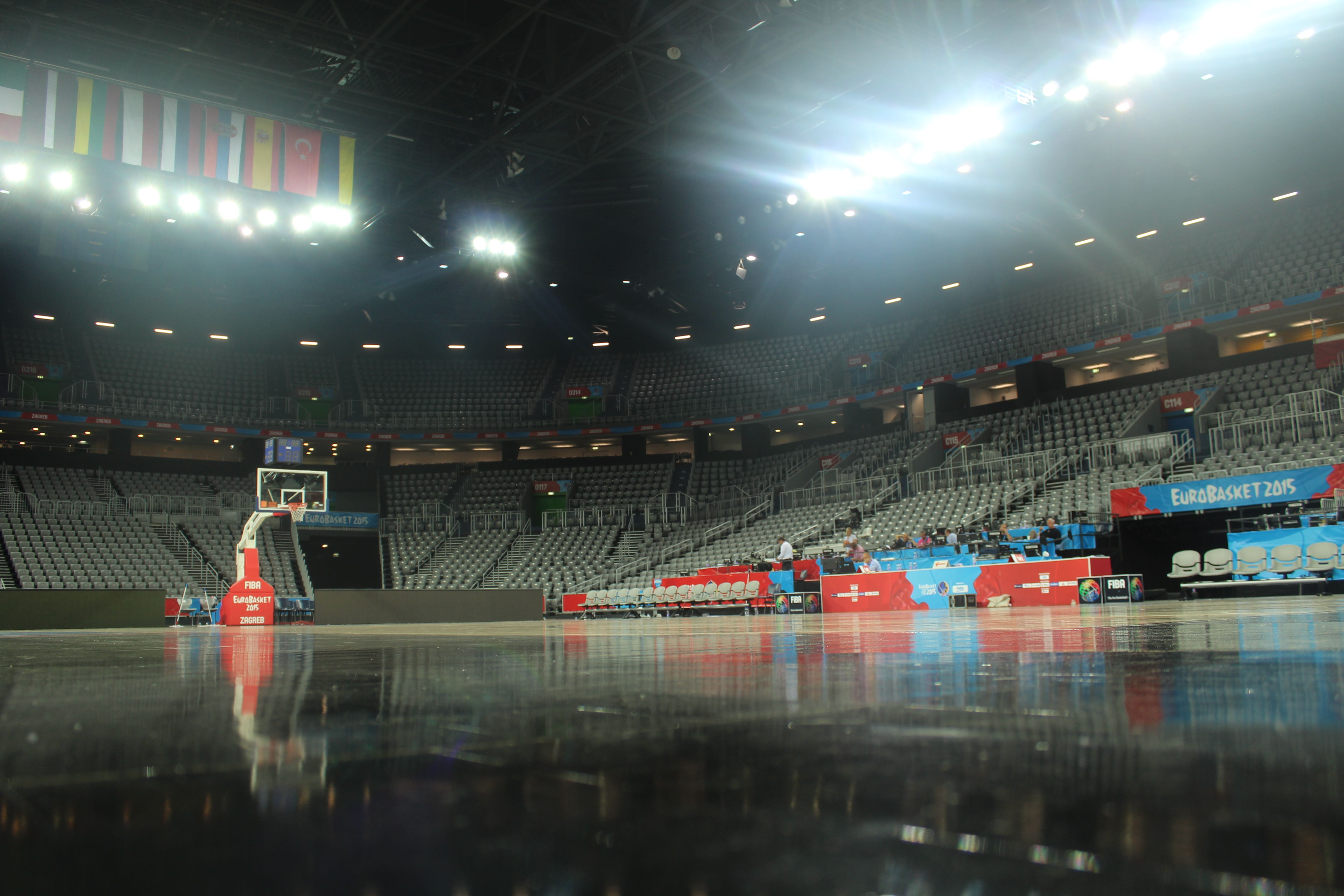 Eurobasket 2015 Arena Zagreb In This Moment Zagreb Places To Go