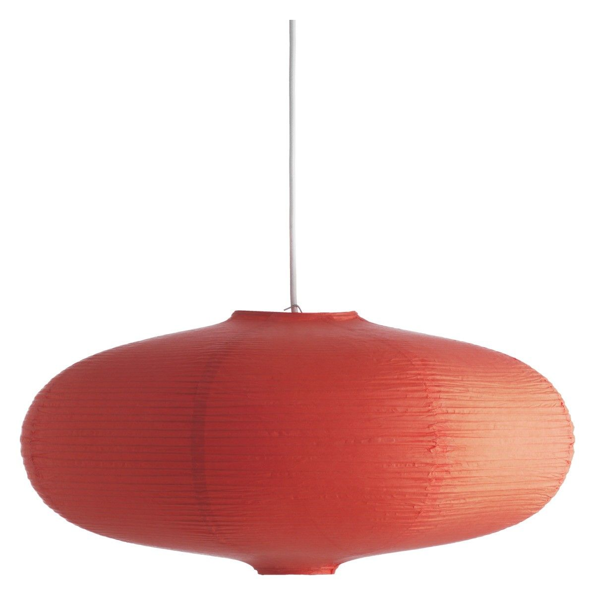 habitat, shiro orange paper ceiling light shade. looks lovely with
