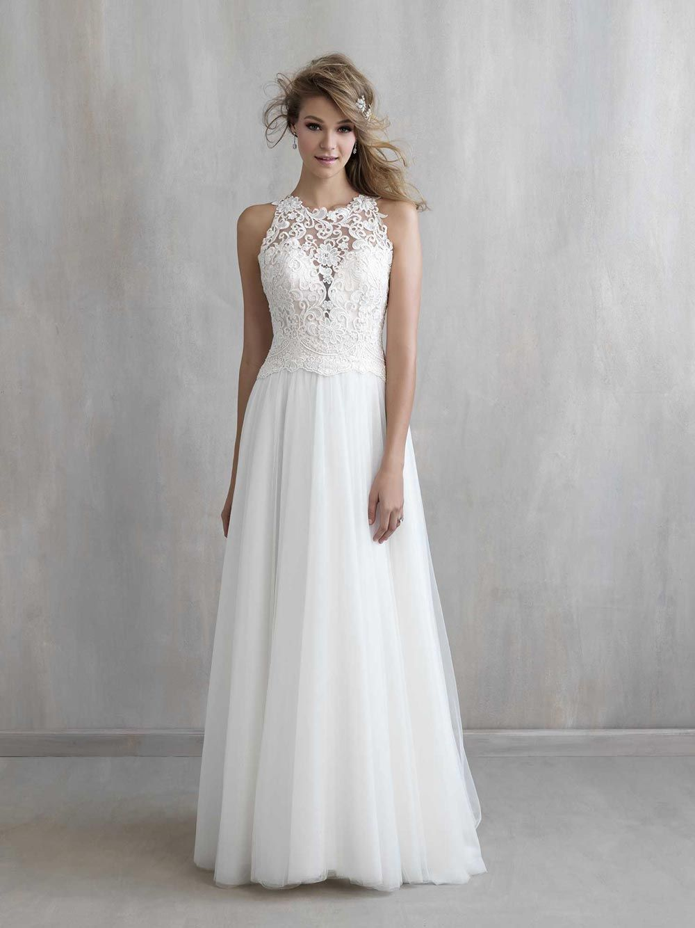 Our favourite grecian style wedding dresses bridal gowns wedding lace detailed grecian bridal gown from madison james junglespirit Choice Image