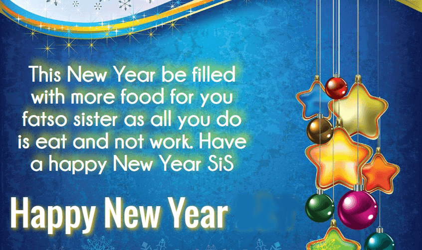happy new year messages 2019 for sister in law