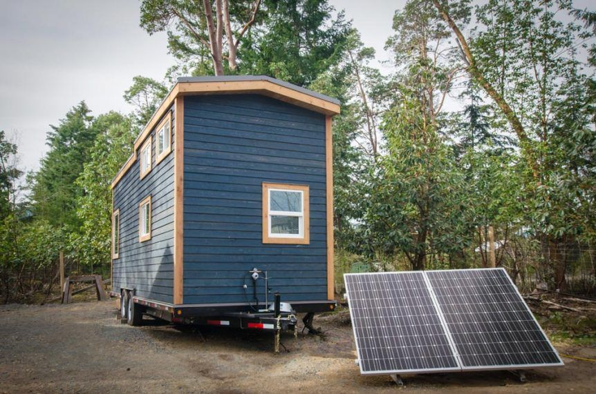 Blue Heron by Rewild Homes roy wills Pinterest Tiny houses