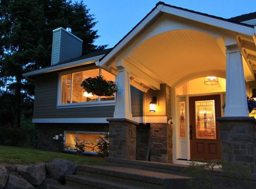 Home Remodeling Portland Exterior Decoration Captivating Traditional House Exterior Split Level Home Designs  Home Decor . Design Decoration