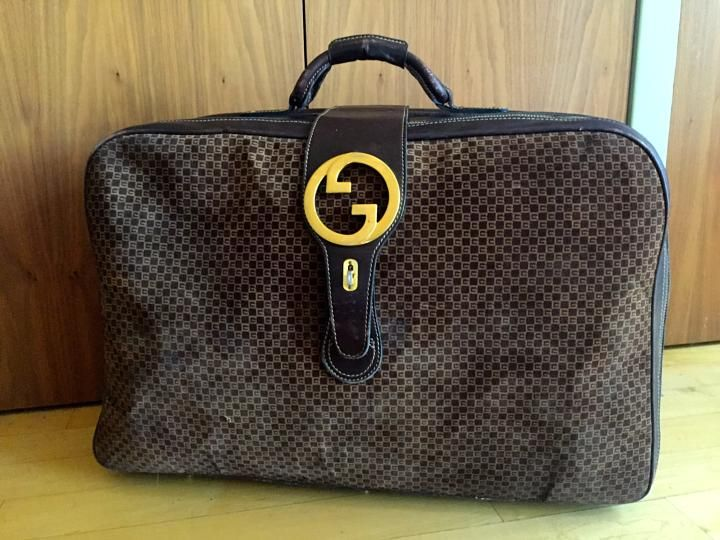 948c7e5678e3 Gucci brown Travel Bag | Awesome Art! in 2019 | Bags, Vintage gucci ...