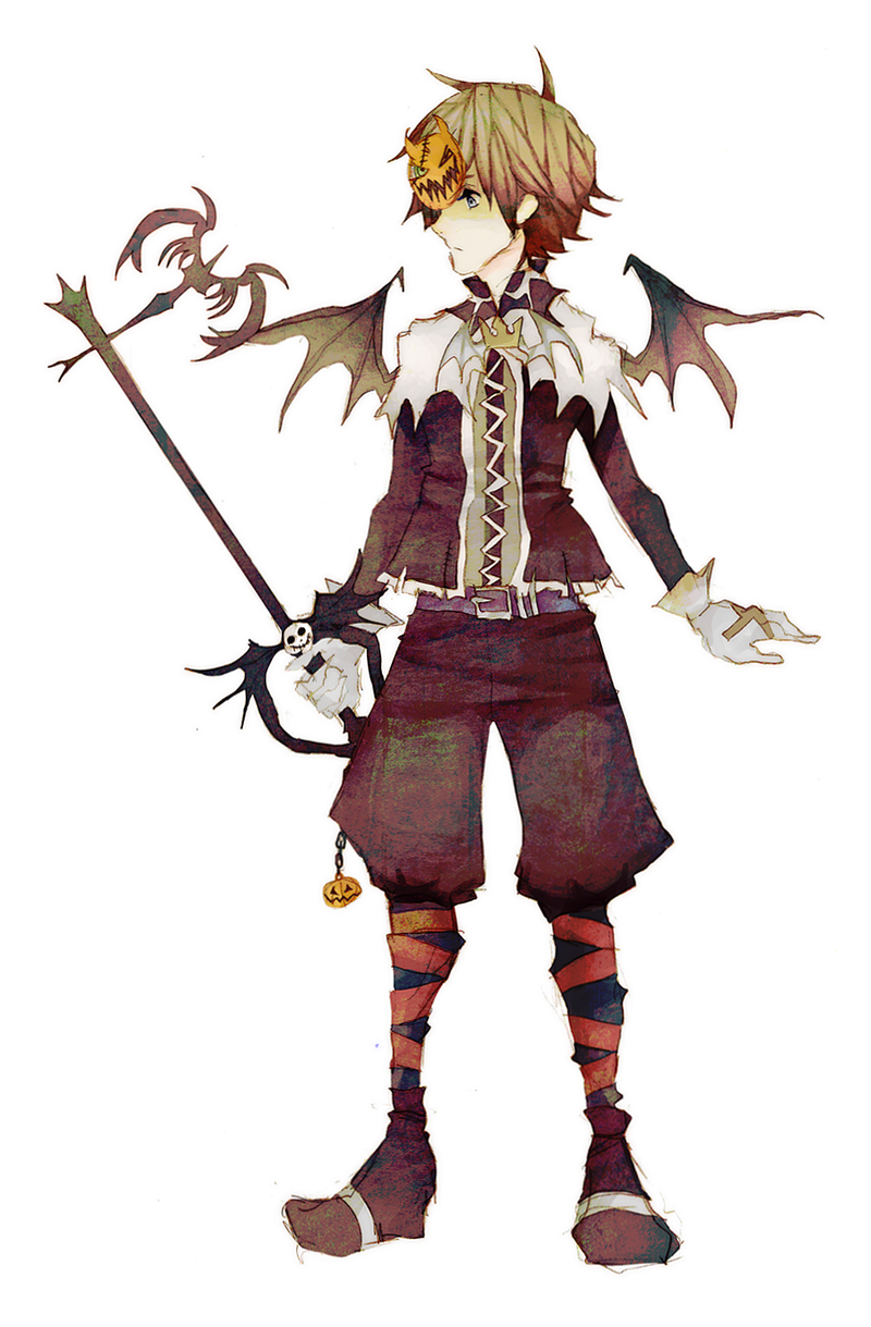 halloween town sora by ruuarideviantartcom on deviantart - Roxas Halloween Town