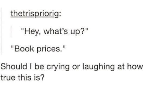 """27 Funny Images That Book Lovers Know All Too Well I'm going to Narnia, Westeros, Hogwarts.. so many other better places than here. I mean, no one explicitly said """"don't buy books."""" How could you, Gaston? You really are a brute! Actually it should be separated into """"new book smell"""" and """"old book smell."""" There's …"""