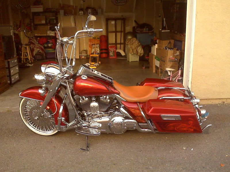 Pin de Big Len\'s Cycles en Baggers | Pinterest | Motocicleta ...