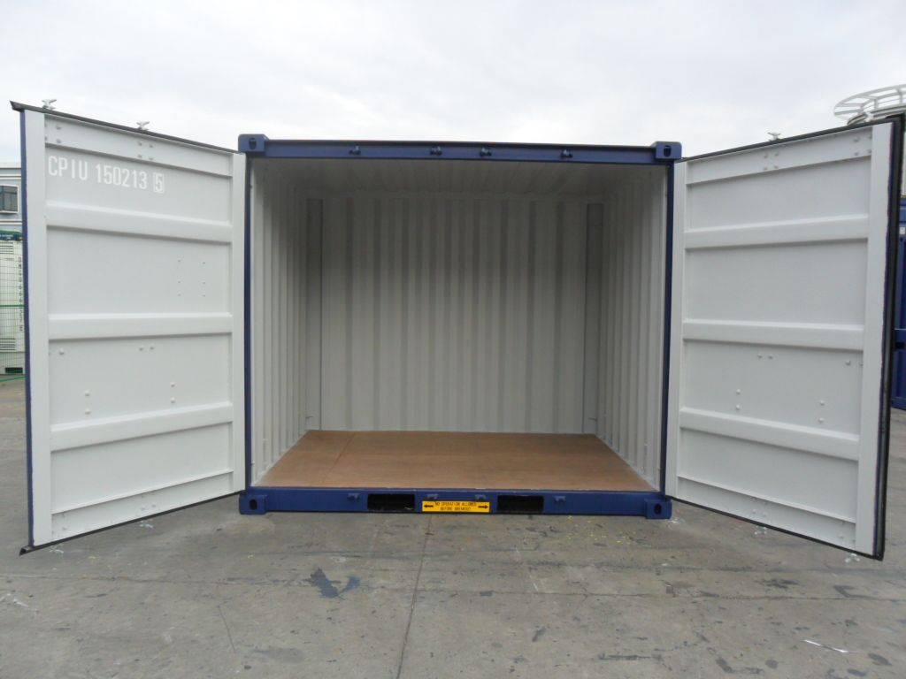 10ft X 8ft Opensider Container Double Doors On The 10ft Side Door Opening 7ft 6in High X 9ft 6in Wide Backyard Sheds Container House Play Houses