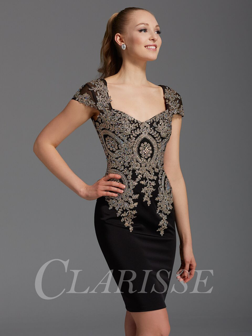 Clarisse blackgold homecoming dress products pinterest