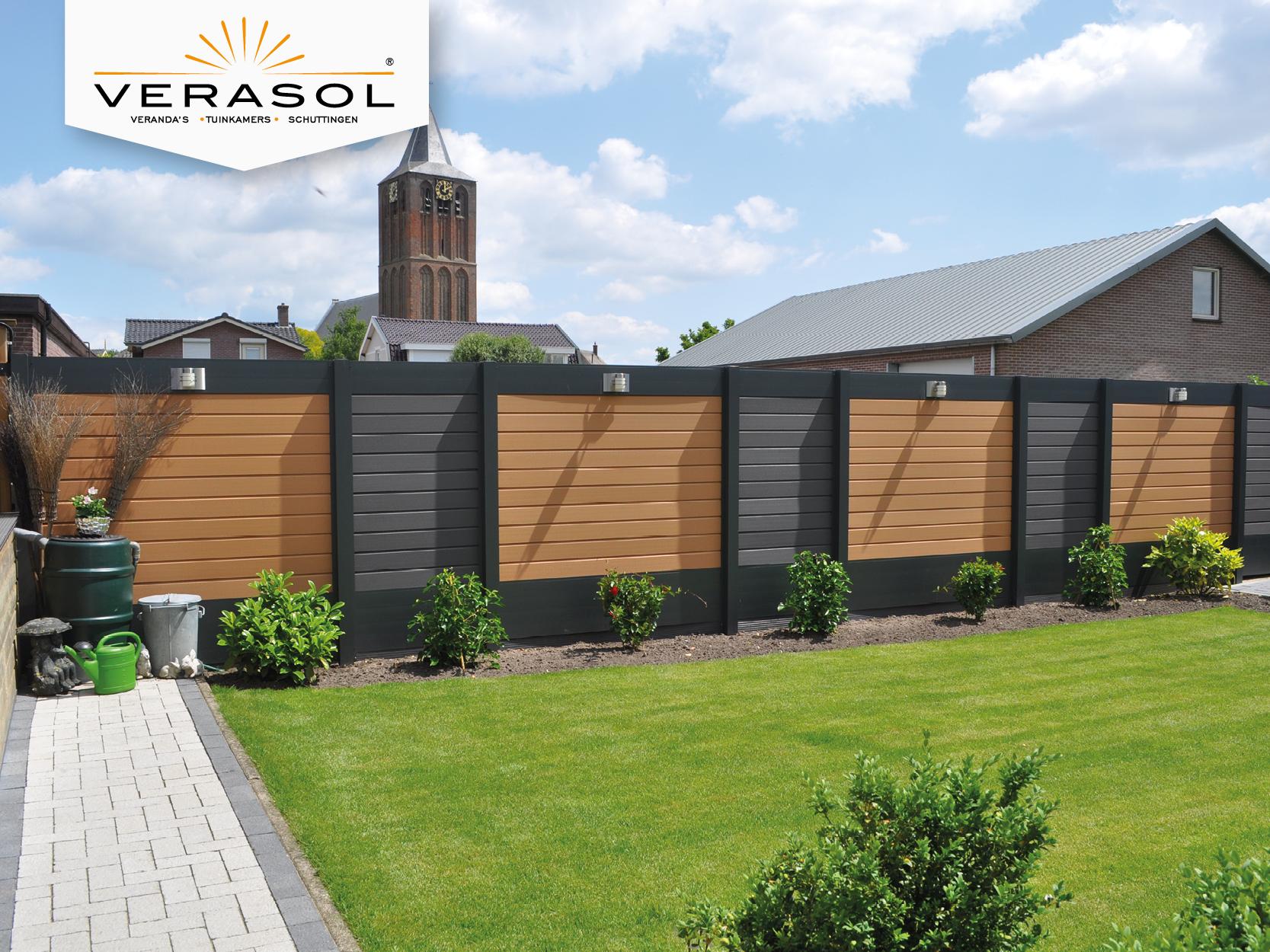 Photo of Verasol Fence Composite   Light brown