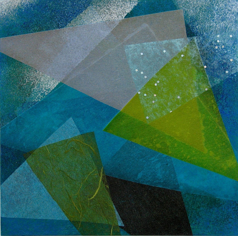 Art Block - Teal by PatriciaForbesArt on Etsy