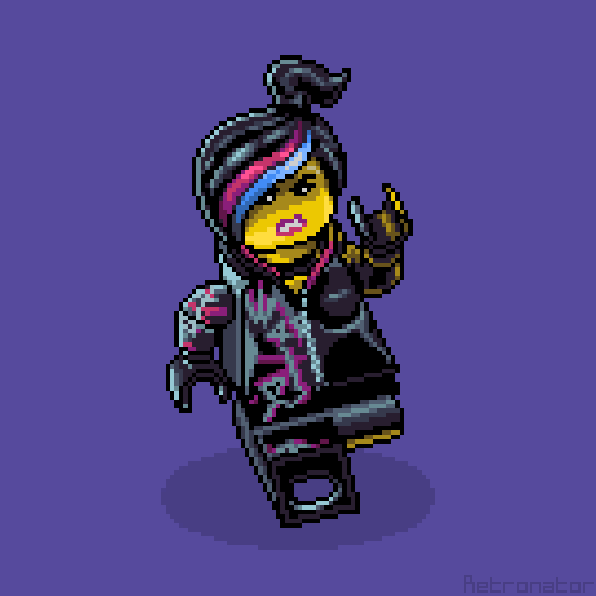 Its Wyldstyle From Lego Movie Had Fun Doing This For My
