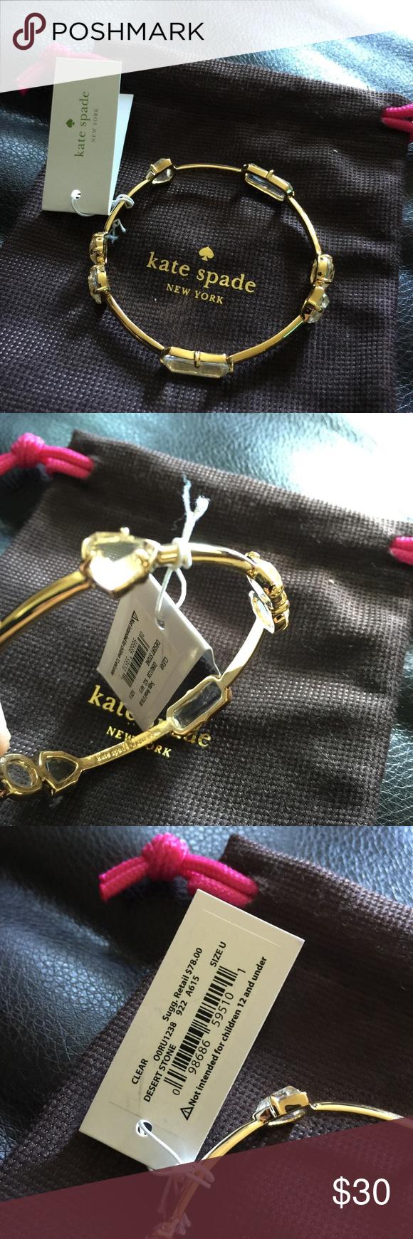 NWT KAYE SPADE BANGLE New with tag pretty nice kate spade bangle . kate spade Jewelry Bracelets