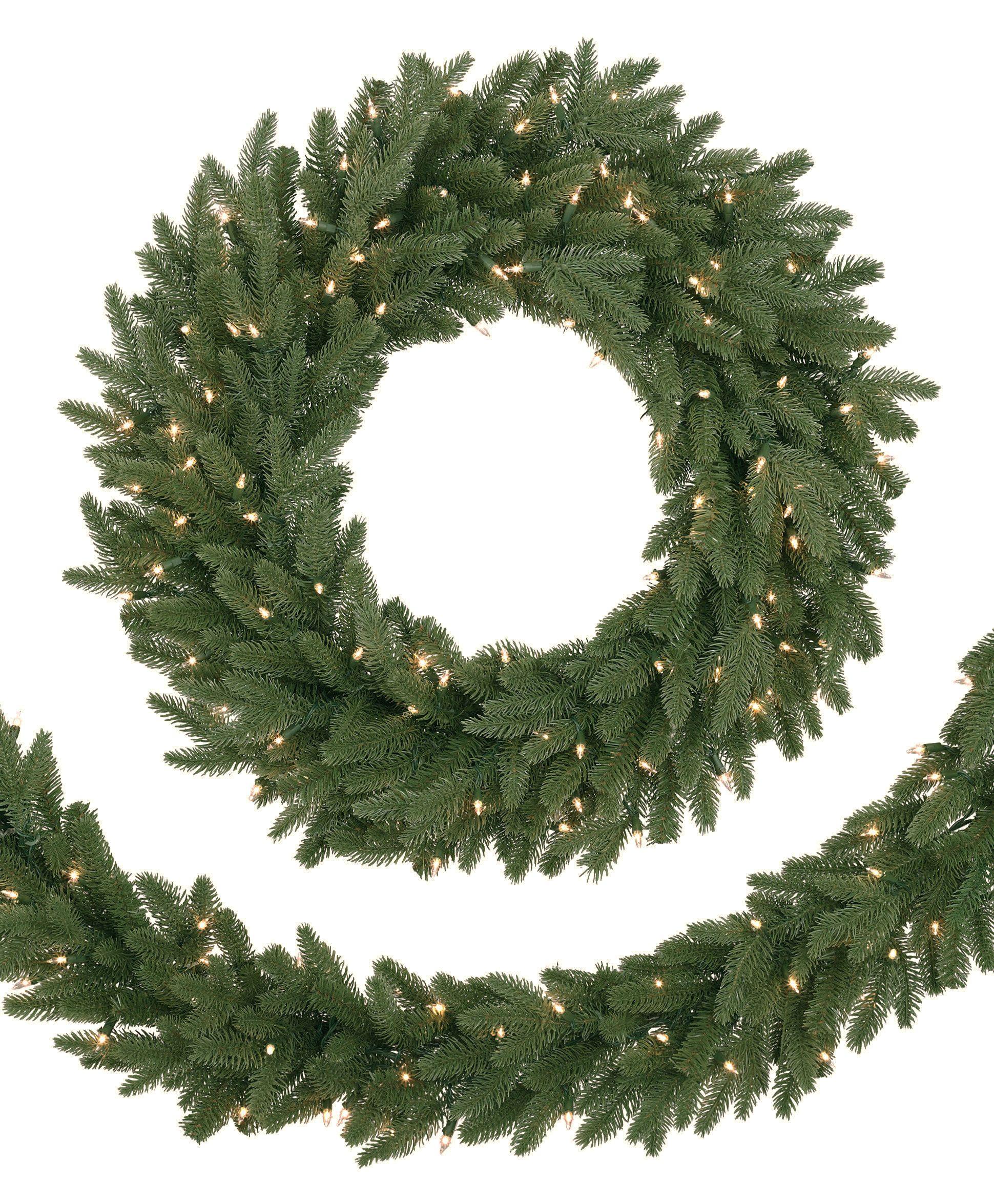 Kennedy Fir Christmas Tree: Artificial Christmas Wreaths