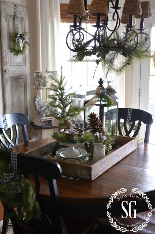Winter Decorations Winter Table Ideas More Christmas Vignettes Winter Table Outdoor Christmas Decorations