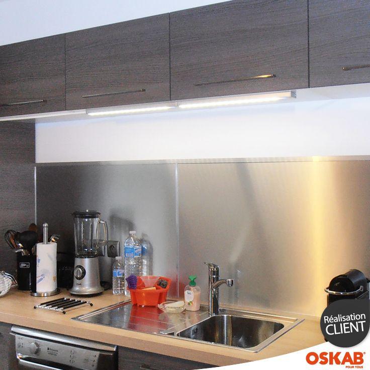 accessoire de cuisine réglette lumineuse fonctionnant avec led et
