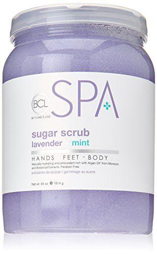 Bio Creative Lab Spa Sugar Scrub Lavender 64 Ounce * Want additional info? Click on the image.