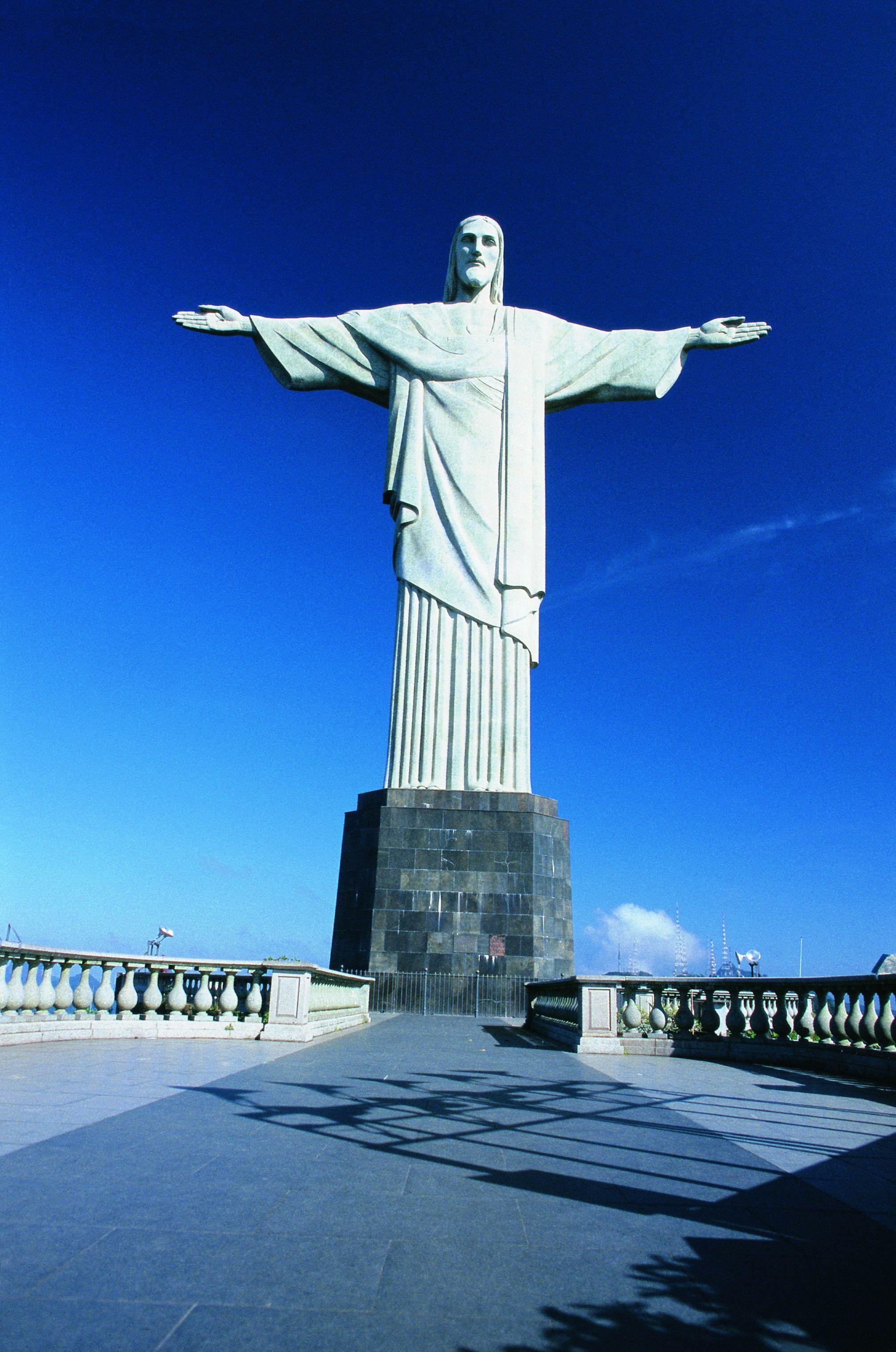 Cristo Redentor Monumento Maravilhoso Cristo Redentor Ponto Turistico Rio De Janeiro Cidade