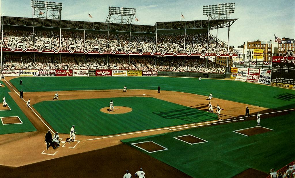 Ebbits Field Baseball Park Baseball Field Park