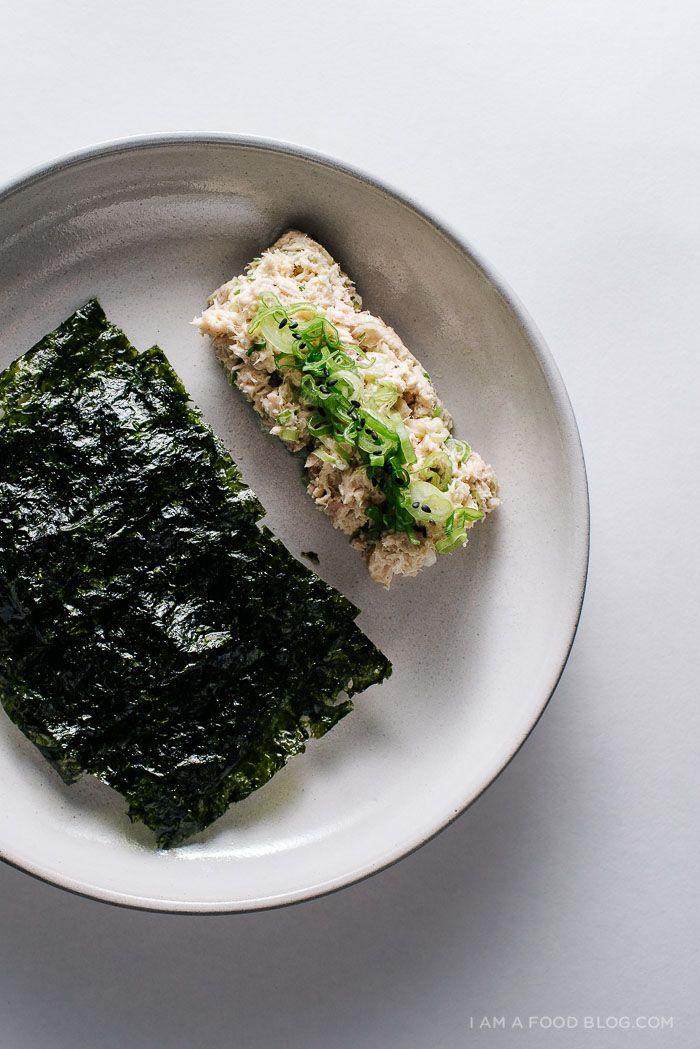miso tuna salad recipe @iamafoodblog