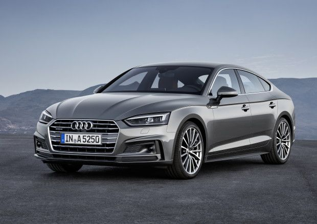 Audi's second generation A5 Sportback steals the spotlight from the coupé