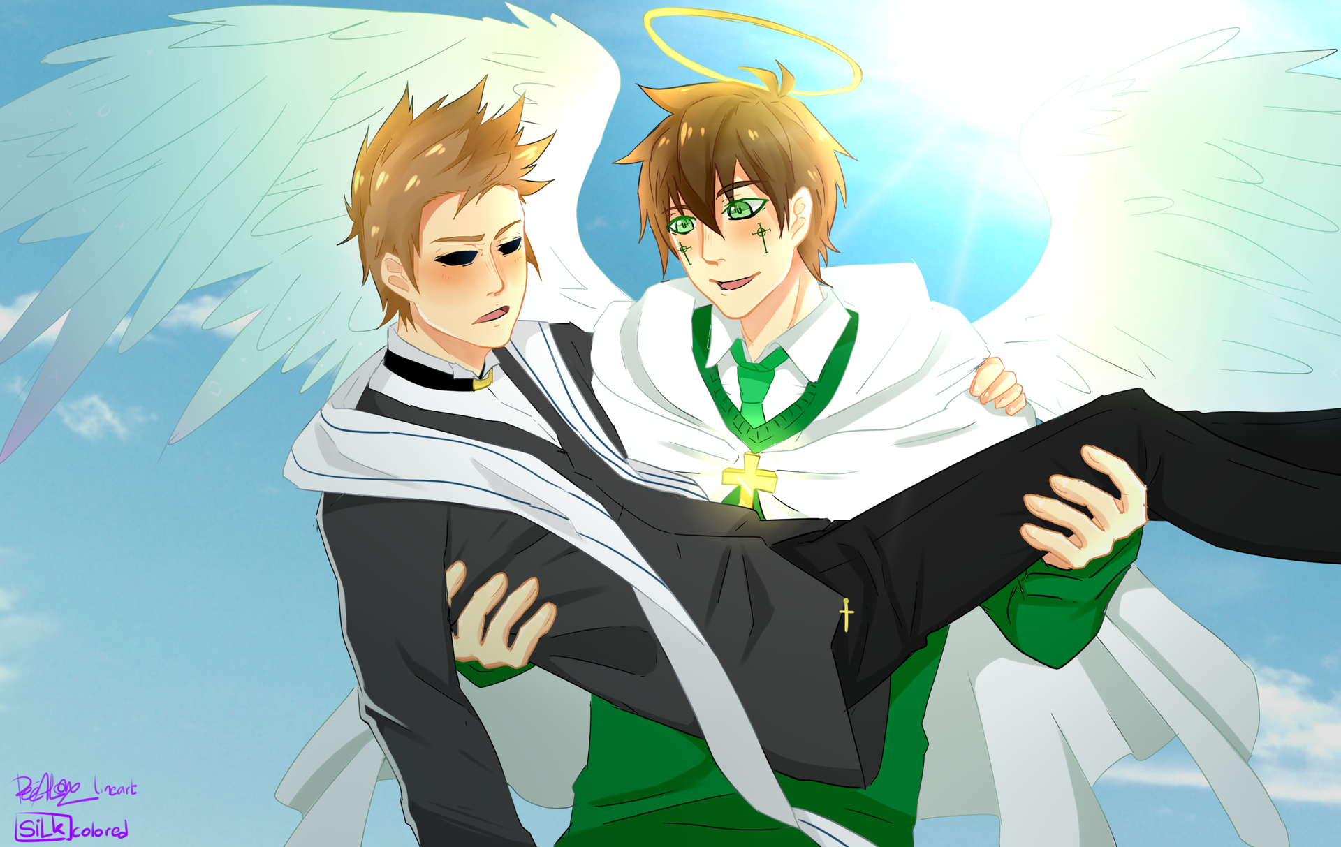 Blessworld Eddsworld au by LouwinSilk on youtube | Eddsworld