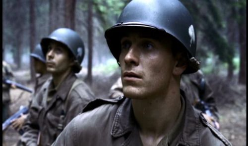 Michael Fassbender as Christenson (Band of Brothers)