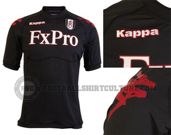 8433b5409 Fulham FC 2011 12 Kappa Away Kit