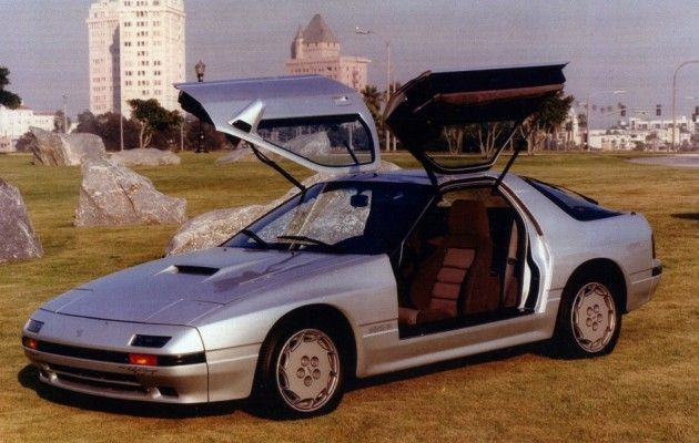 1987 Mazda Rx7 Gullwinged Rotary Mazda Rx7 Mazda Rx7