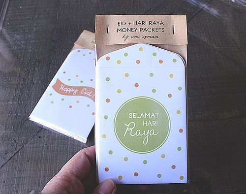 sampul duit raya  money envelopes diy eid decorations eid