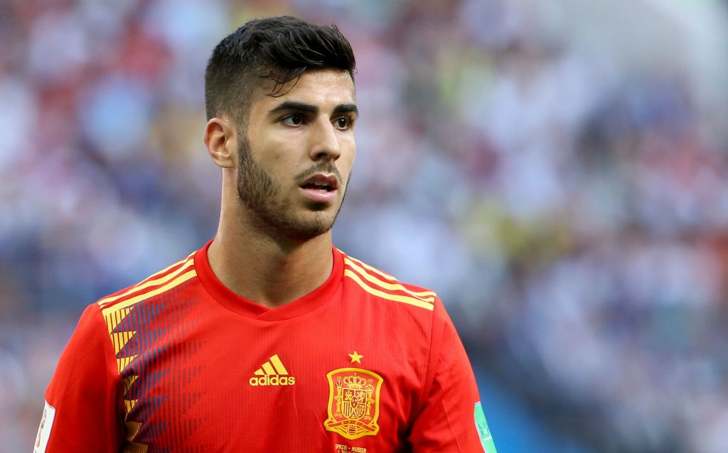 Marco Asensio of Spain during the 2018 FIFA World Cup ...