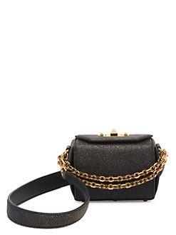 Alexander McQueen - Leather Box Bag