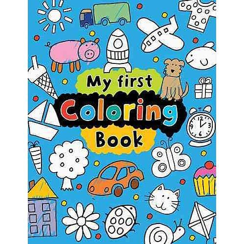 My First Coloring Book Activity BooksBook ActivitiesMake BelieveToys R UsColoring Books