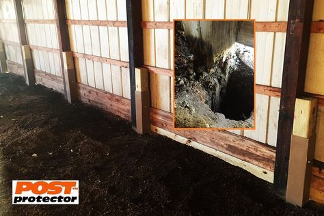 Pole Barn Post Repair