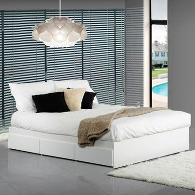 Latitude Run Britt Platform Bed With Storage Size Full Platform
