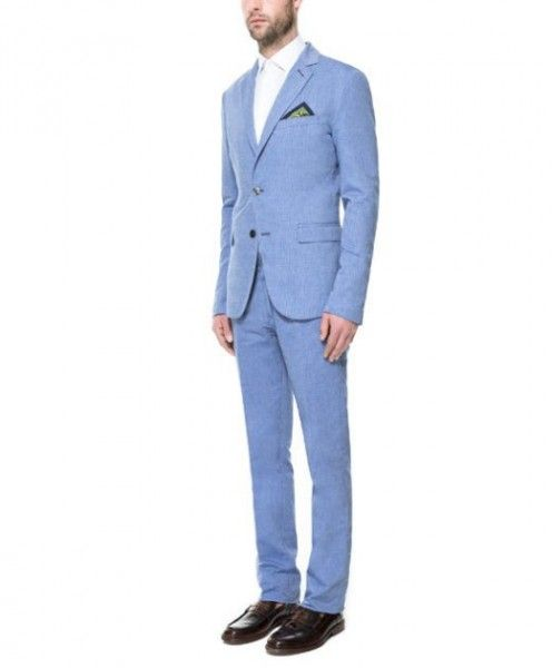Abiti Eleganti Zara Uomo.Foto Collezione Vestiti Uomo Estate 2013 Completo Da Uomo