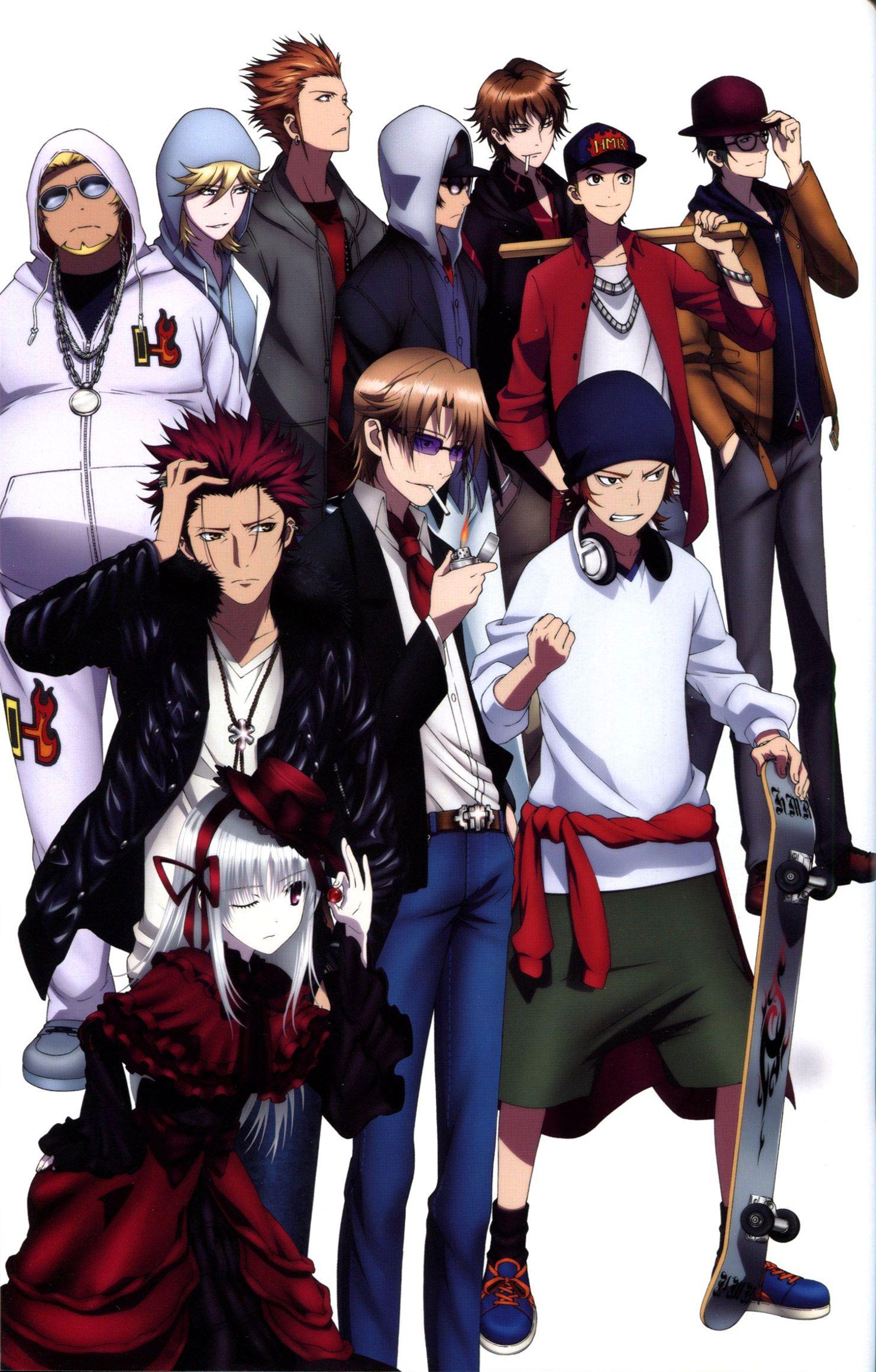 K Project 1508159 Zerochan K Project K Project Anime Anime