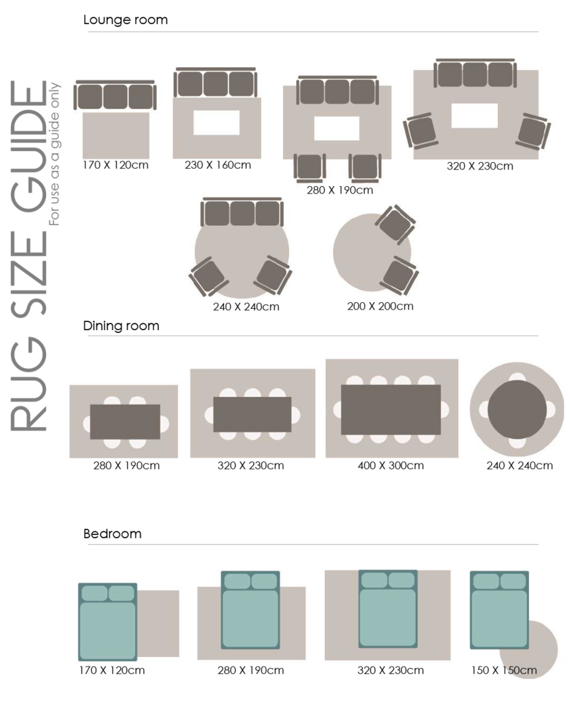 Floor Rug Size Guide