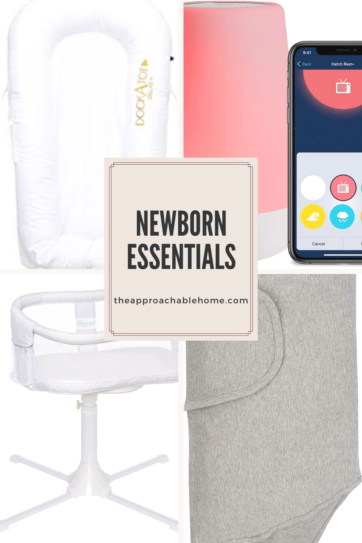 Must haves for a new baby. #babyshowergifts #newborn #newbornmusthaves #babylist