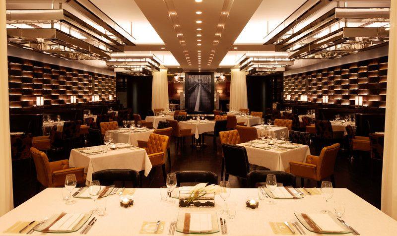 Jumeirah Emirates Towers Hotel - Dubai Restaurants - The Rib Room - Steakhouse