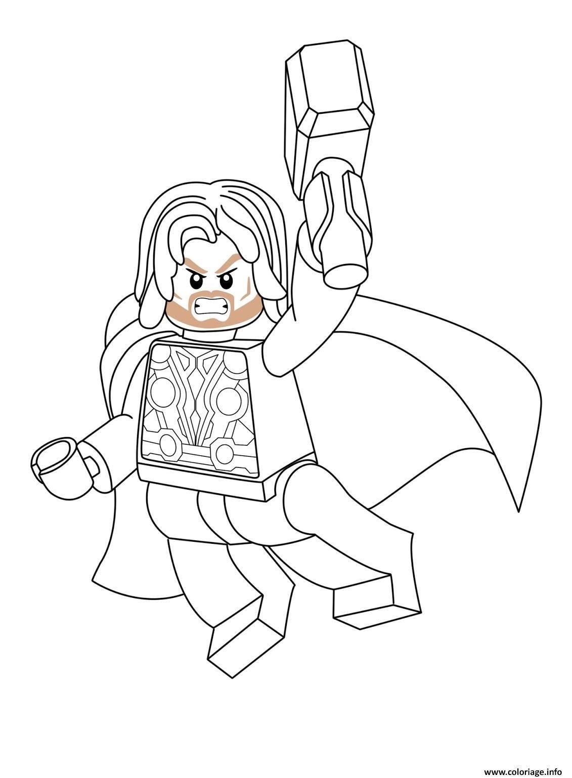 10 Coloriage Imprimer Thor Superhero Coloring Pages Superhero Coloring Lego Coloring Pages