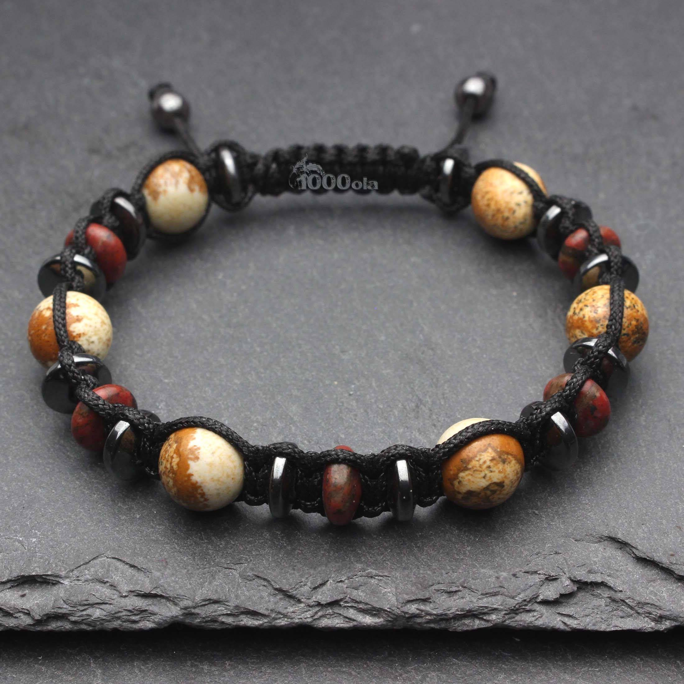 Fabriquer bracelet shamballa homme