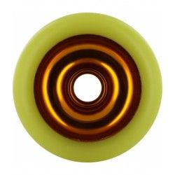 Eagle Sport 100mm Anodized Scooter Wheel - Gold / Yellow