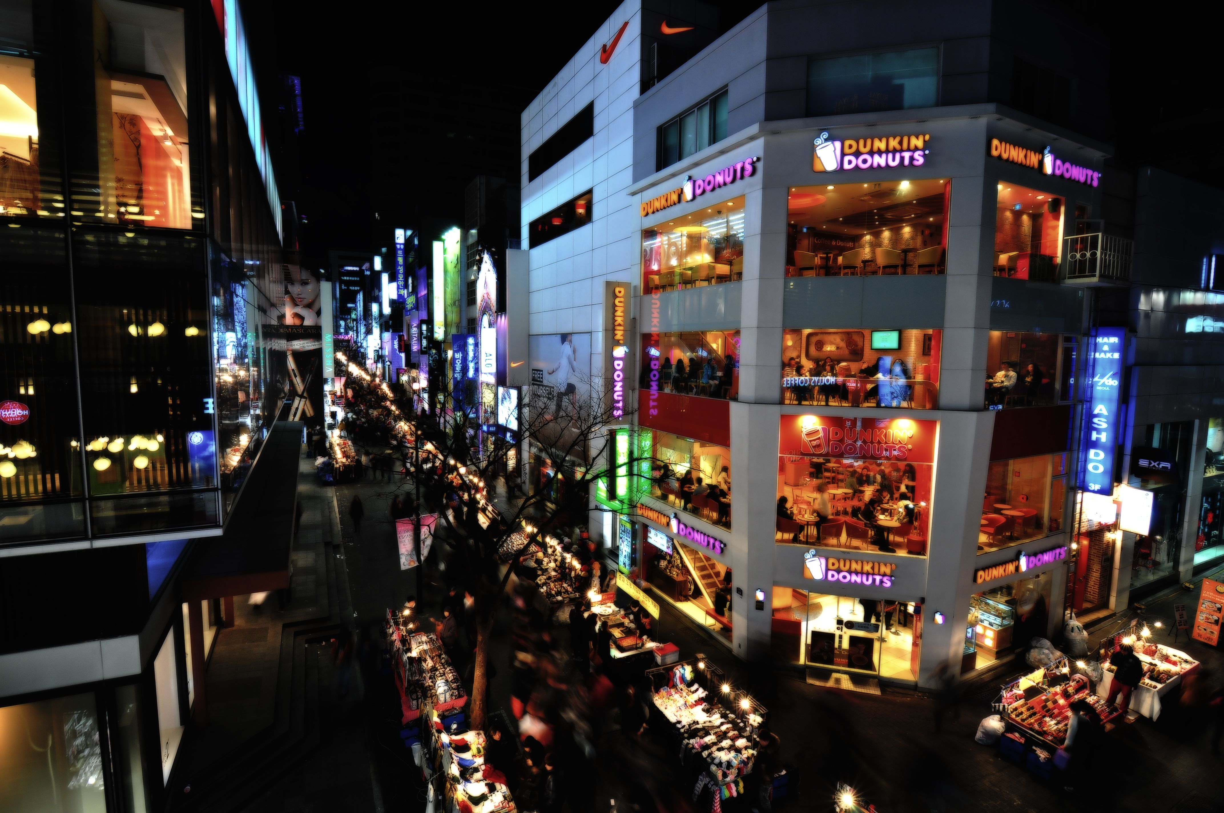 Myeong Dong Seoul I Want To Go Again Soon South Korea Seoul Night Market