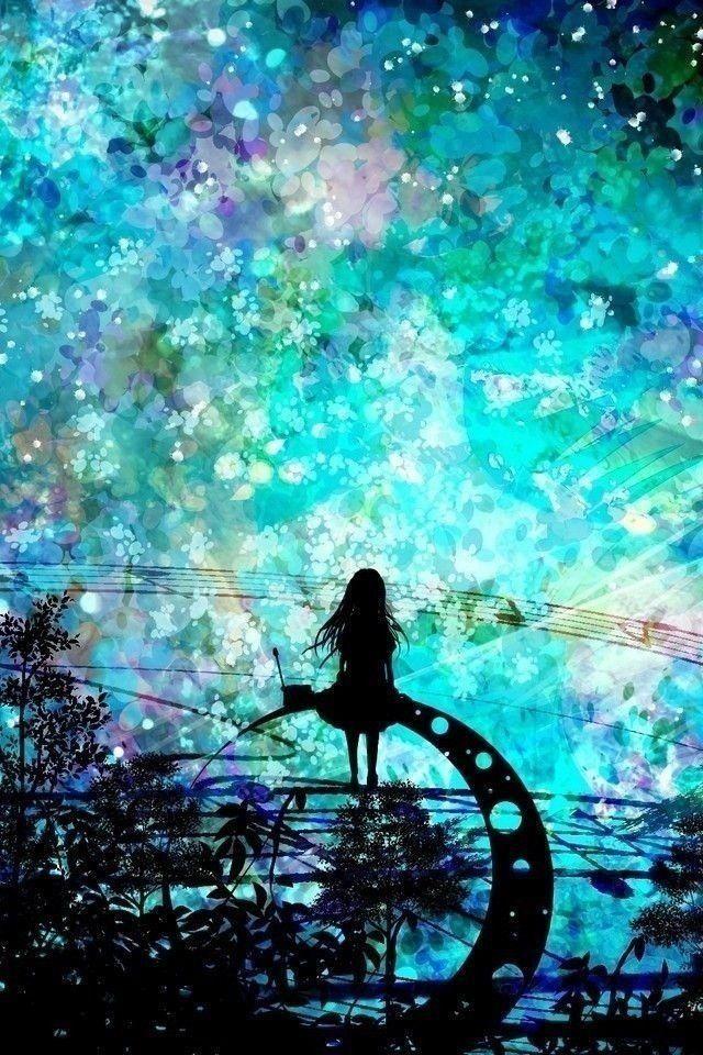 こういうファンタジックで綺麗な風景画像ください 哲学ニュースnwk 綺麗なイラスト壁紙背景 幻想的なイラスト 星空 イラスト