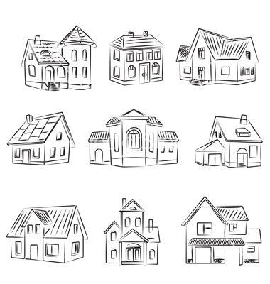 buildings doodle pinterest zeichnen malen und notizbuch. Black Bedroom Furniture Sets. Home Design Ideas