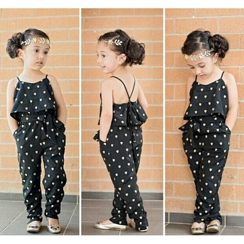 Outfits for Toddler Girls Clothes Sets 2 Pcs Off Shoulder Shorts Jeans Toddler Girls Rompers and Jumpsuits