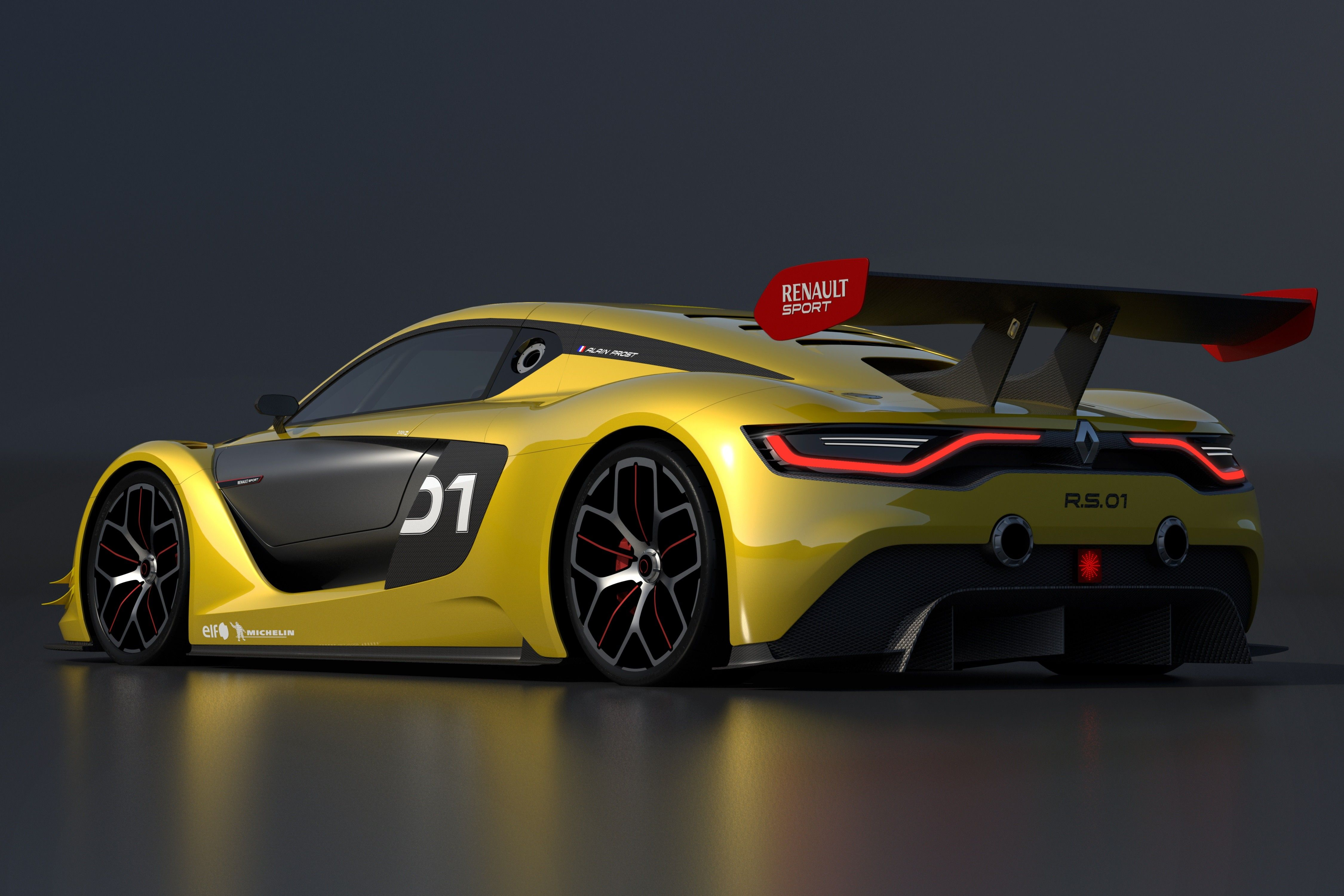 sports with the Renault Sport RS01, a racing car of