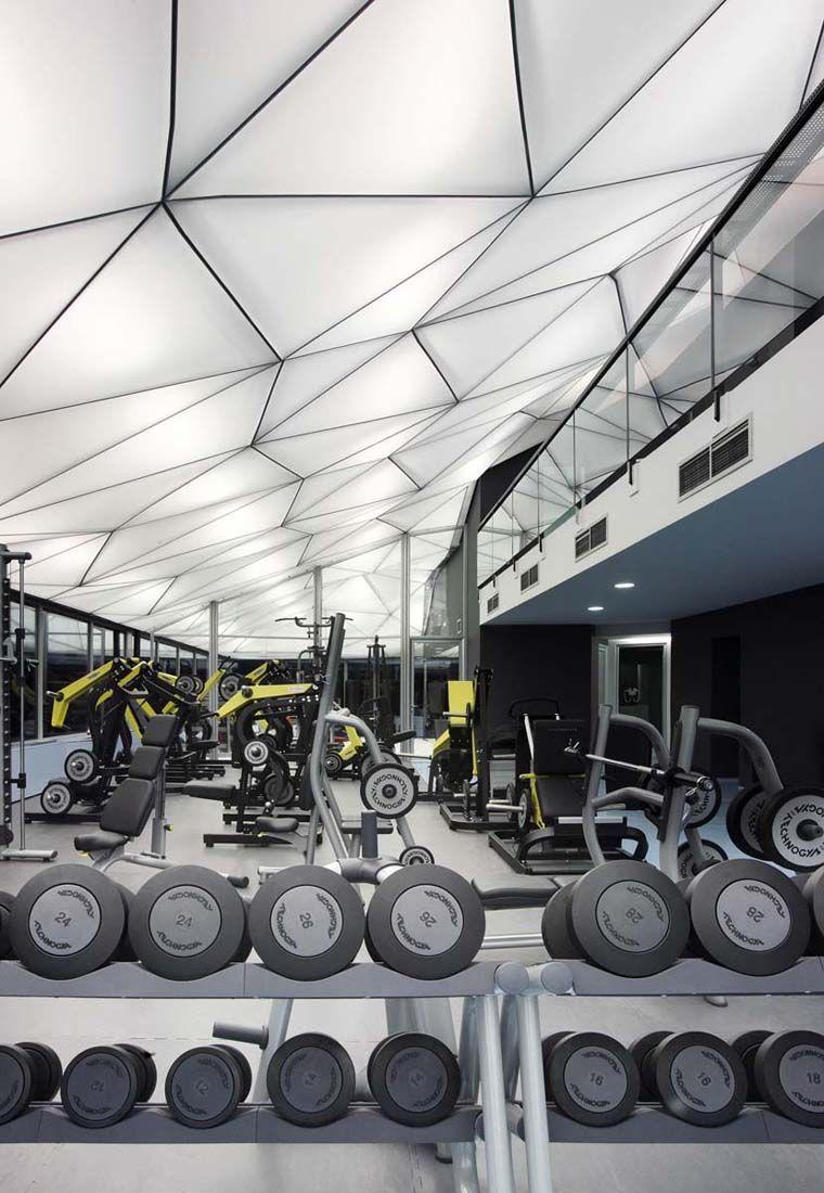 Wellness Sky 4of7 Fitnessroom Design Und Modern