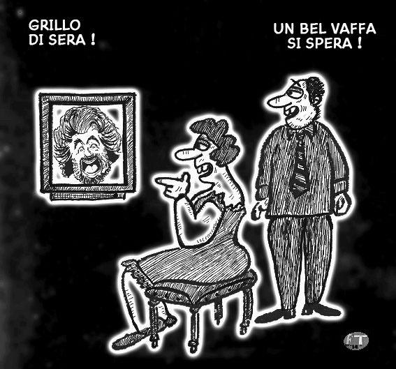Grillo in TV