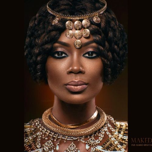 Isabelle Beke as Queen of Sheba by Mario Epanya 2016